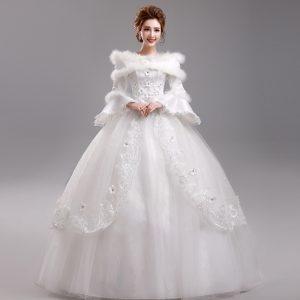 font-b-winter-b-font-princess-long-sleeve-lace-wedding-font-b-dress-b-font