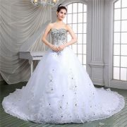 Top Rated Products White Stone Wedding Gowns