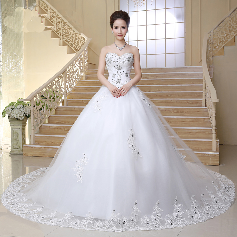 Beautiful Dresses To Wear To A Wedding: Beautiful Wedding Gown