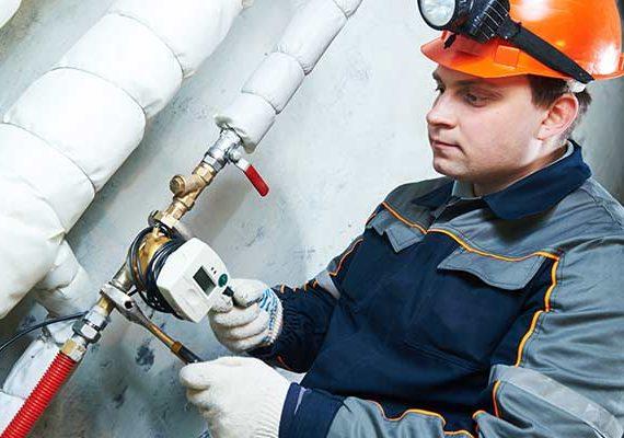 Work on pipeline leakage