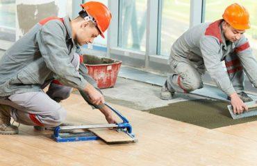 Intallation of click laminate flooring
