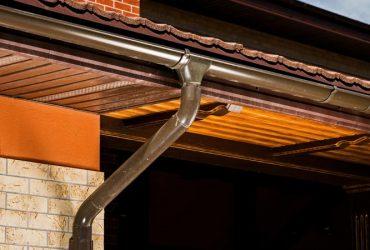 Copper Gutter Installation